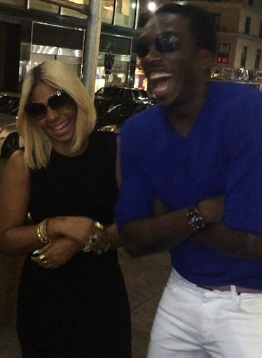 Comedian Bovi Even 'Tickles' Ashanti Faraway In New York – Photos