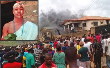 Not Again!! Youths Uncover Baby Factory In Ogun State,Set Building Ablaze