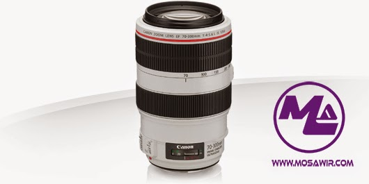 عدسة كانون: EF 70-300mm f/4-5.6L IS USM
