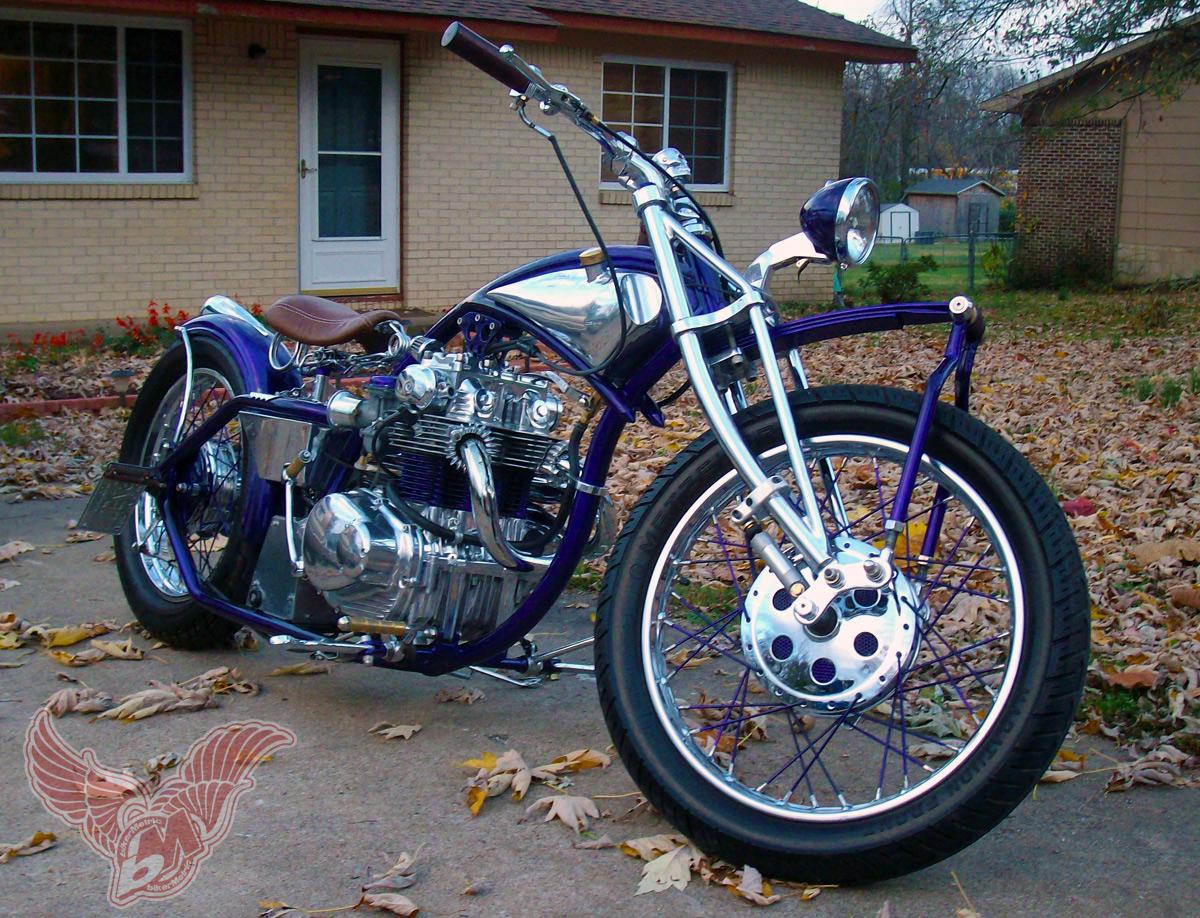 Reader Rides Jan Sallings Leaf Spring Honda Cl350 Bobber