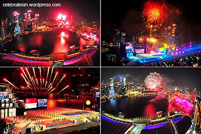 Singapore's National Day celebrations Photos 2011