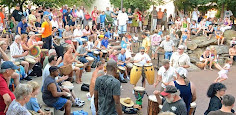 Drum Circle pulses through downtown Asheville