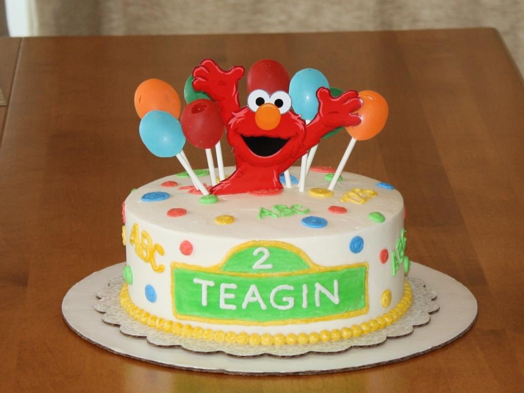 Party Cakes Sesame Street Elmo Cake