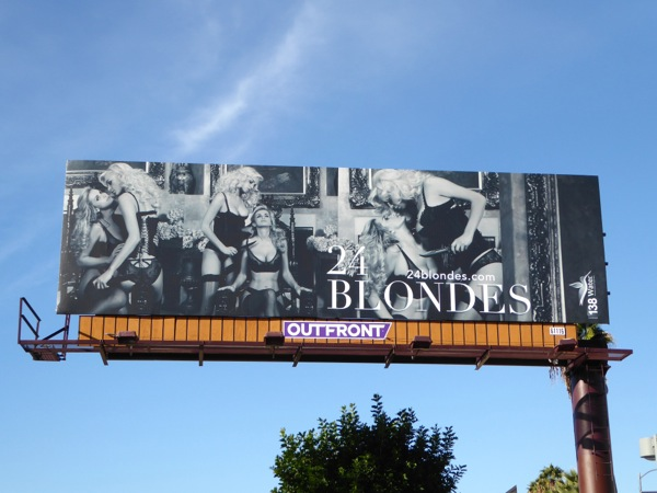 24 Blondes book 138 Water billboard