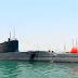 Glimpsed At Iranian Fateh Class Diesel Electric Submarine