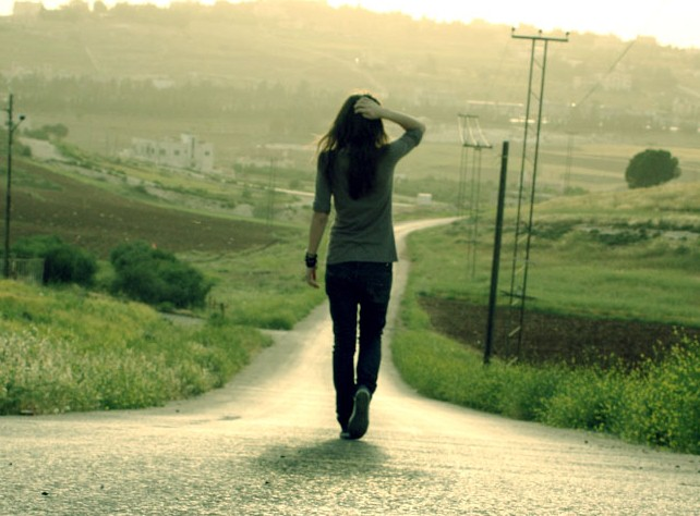 Image result for walking alone