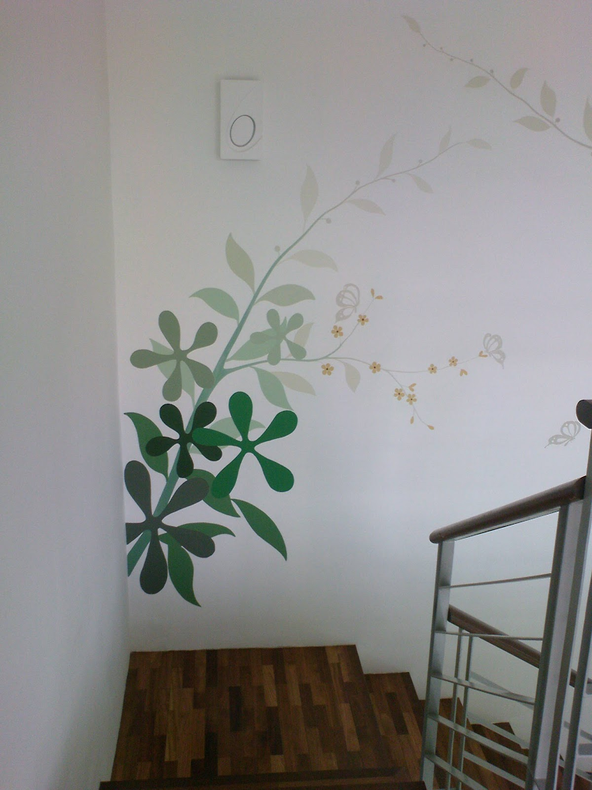Simple wall painting Paint of wall
