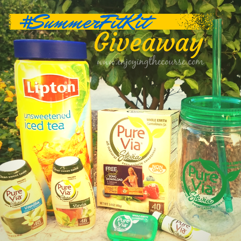 Pure Via Summer Fit Kit Giveaway | enjoyingthecourse.com