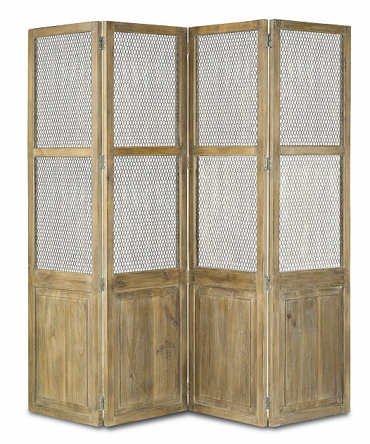 wood rustic room screen