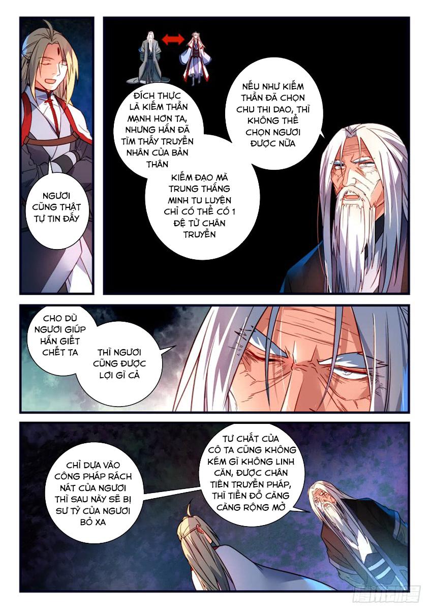 Tung Tiền Hữu Tọa Linh Kiếm Sơn Chap 360 - Trang 11