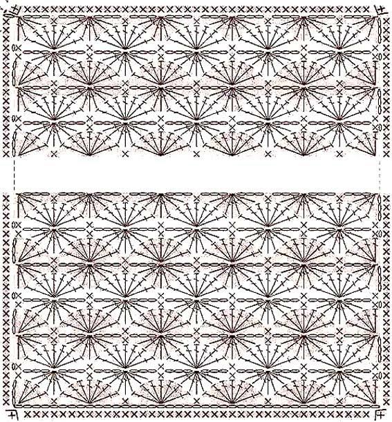 Patrones de mantas de bebé al crochet - Imagui