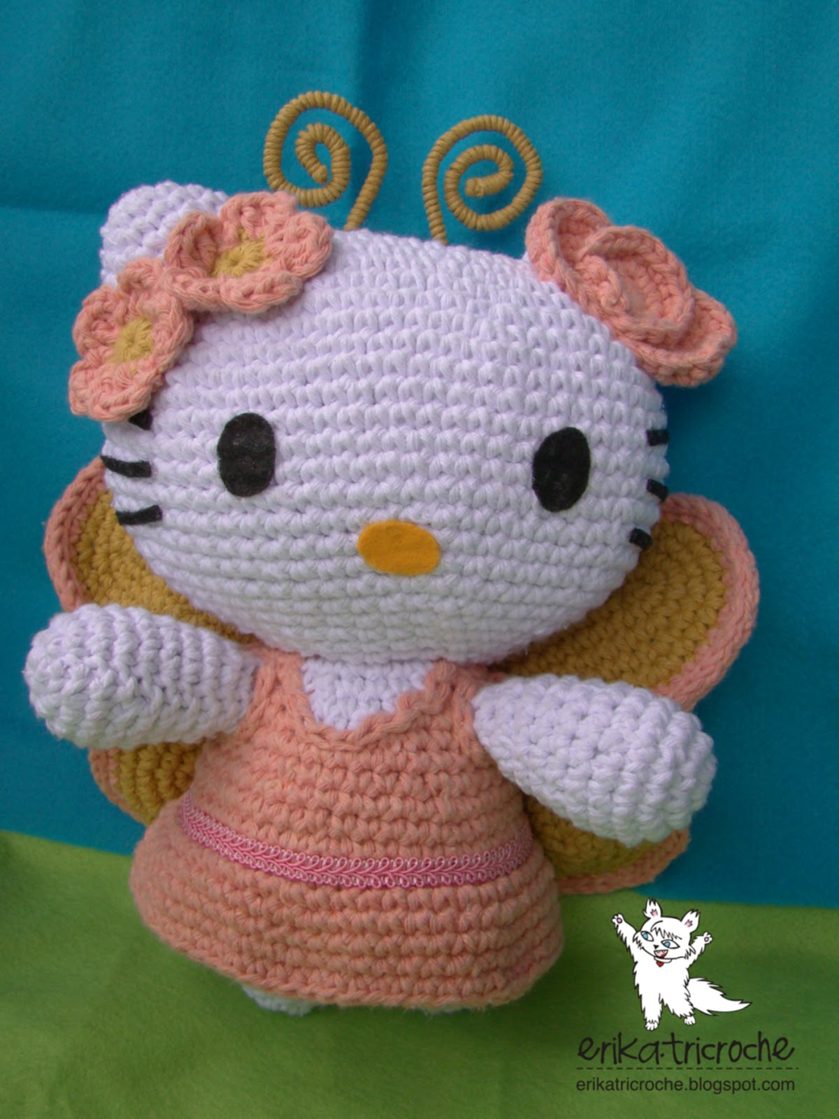Hello Kitty Borboleta