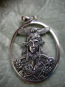 Mujer Ancestral-Minerva-Mujer pájaro