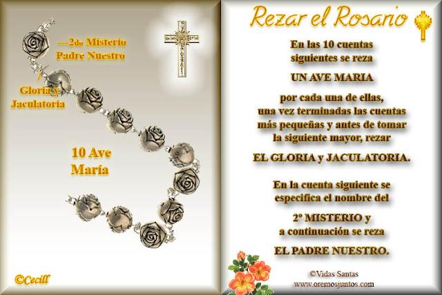 como rezar el rosario con letanias pdf