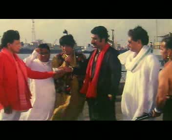 Bulla hands Mithun his reward