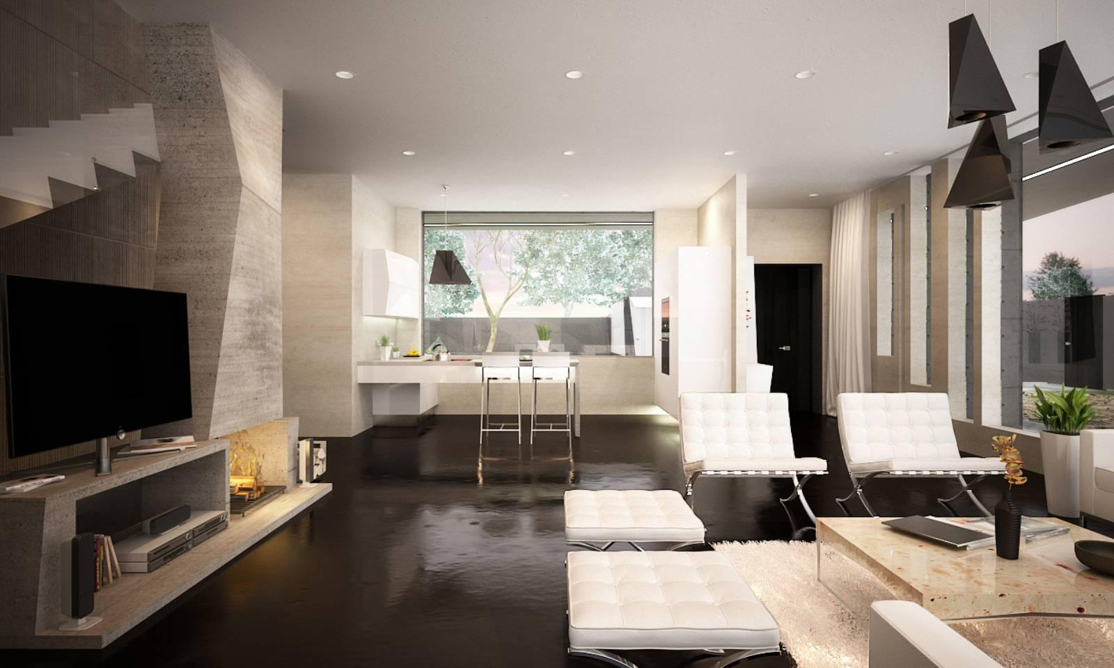 M house by marcel luchian studio for Sejour design
