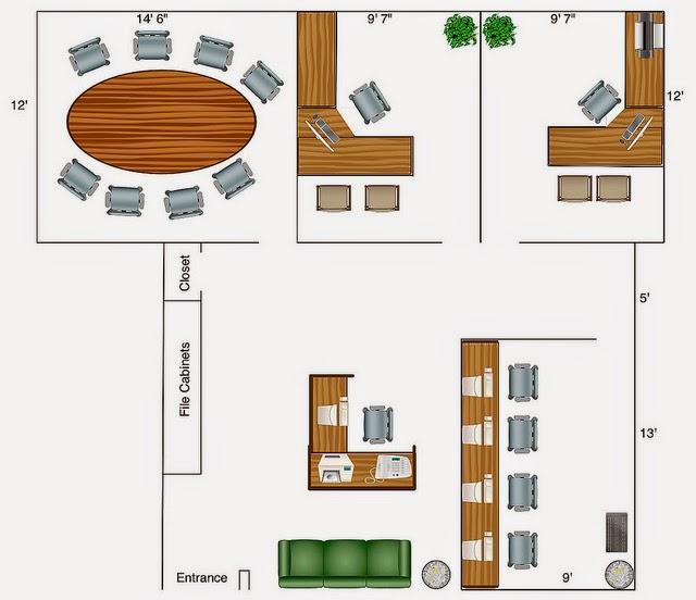 foundation dezin  u0026 decor     simple office layout