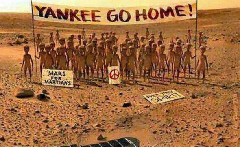 ¿Y si ya hallaron vida en Marte?
