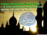 ucapan selamat puasa Ucapan Selamat Puasa Ramadhan 1434 H 2013