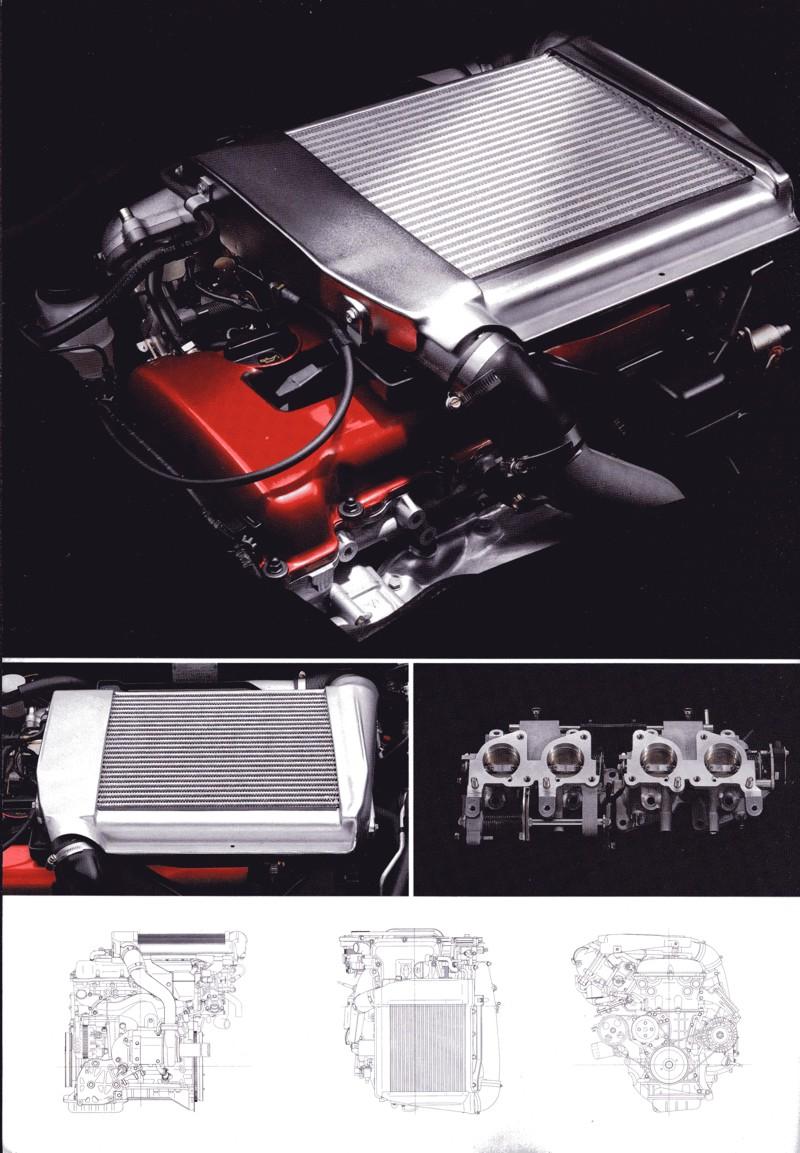 Nissan Pulsar Sunny GTi-R N14 日産 日本車 ホットハッチ スポーツカー silnik engine SR20DET
