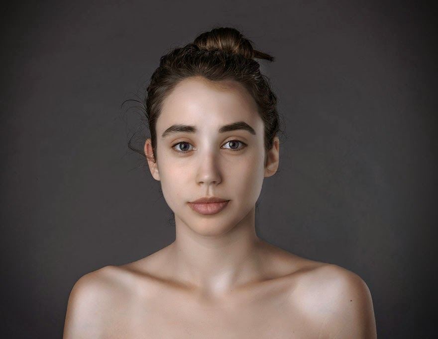 ISRAEL - Woman Had Her Face Photoshopped In More Than 25 Countries To Compare Their Beauty Standards