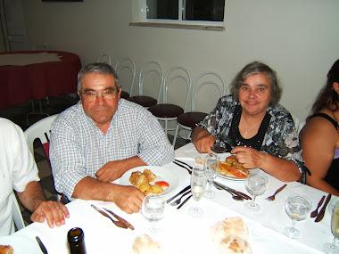 Virgílio Sapateiro e a esposa
