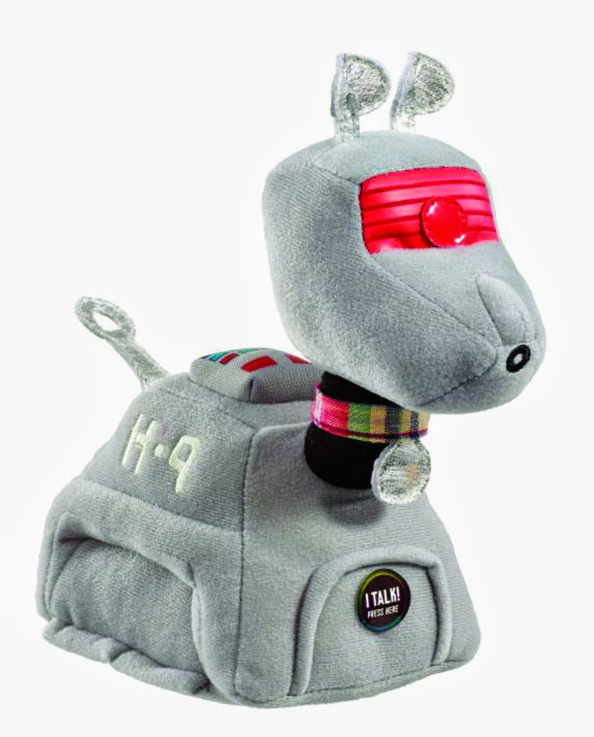 The Previews Exclusive Doctor Who K9 Talking Plush