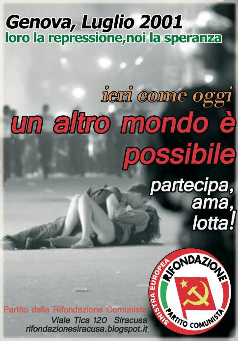 Rifondazione comunista siracusa for Email senatori italiani