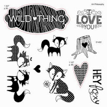 WILD ABOUT LOVE - February Stamp of the Month