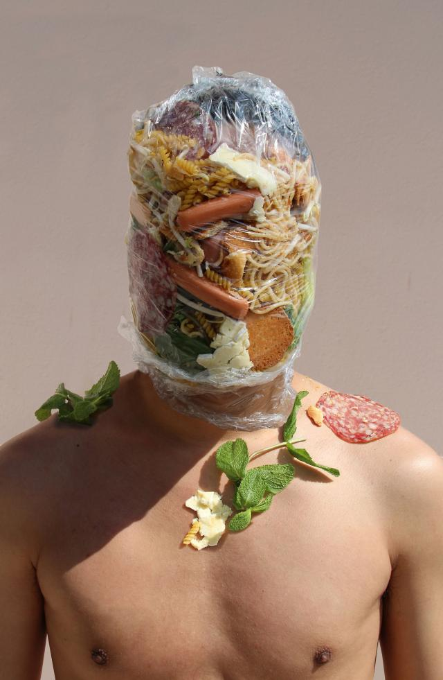Be Inspired By An Unusual And Quirky: Artist Creates Unusual Self Portraits Inspired By Food