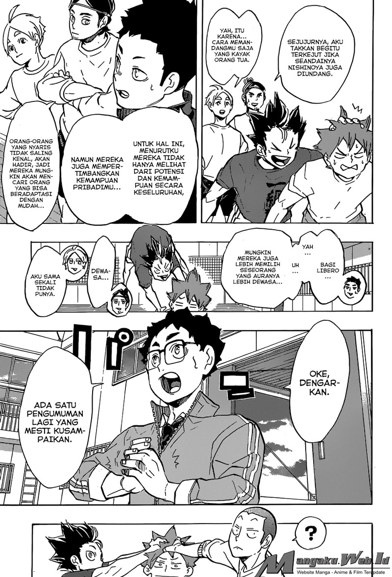 Haikyuu!! Chapter 208-5