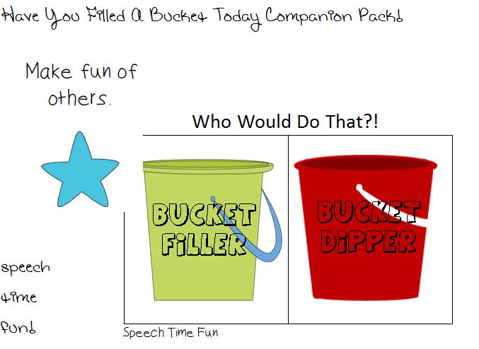 Bucket Filler Vs. Bucket Dipper: Practice social skills and