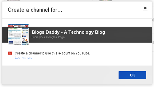 Blogs Daddy G+ page