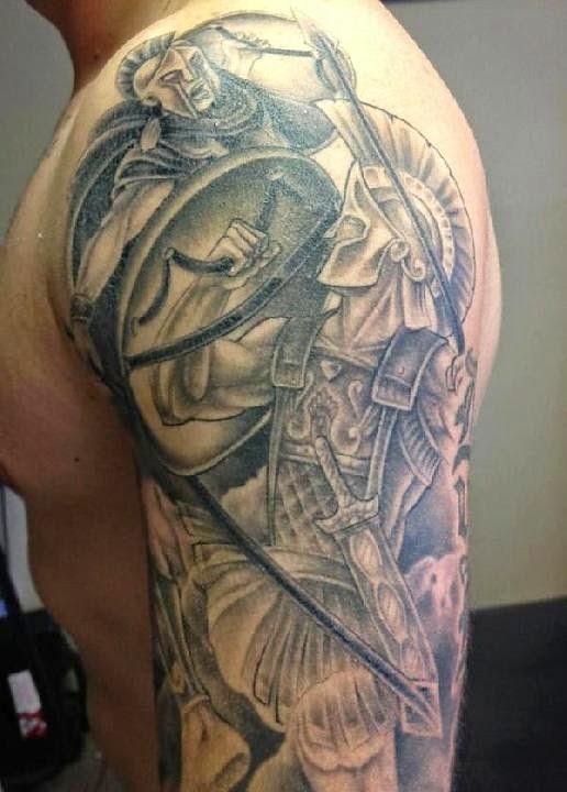 Greek tattoos tattoo designs for Fraternity tattoo ideas