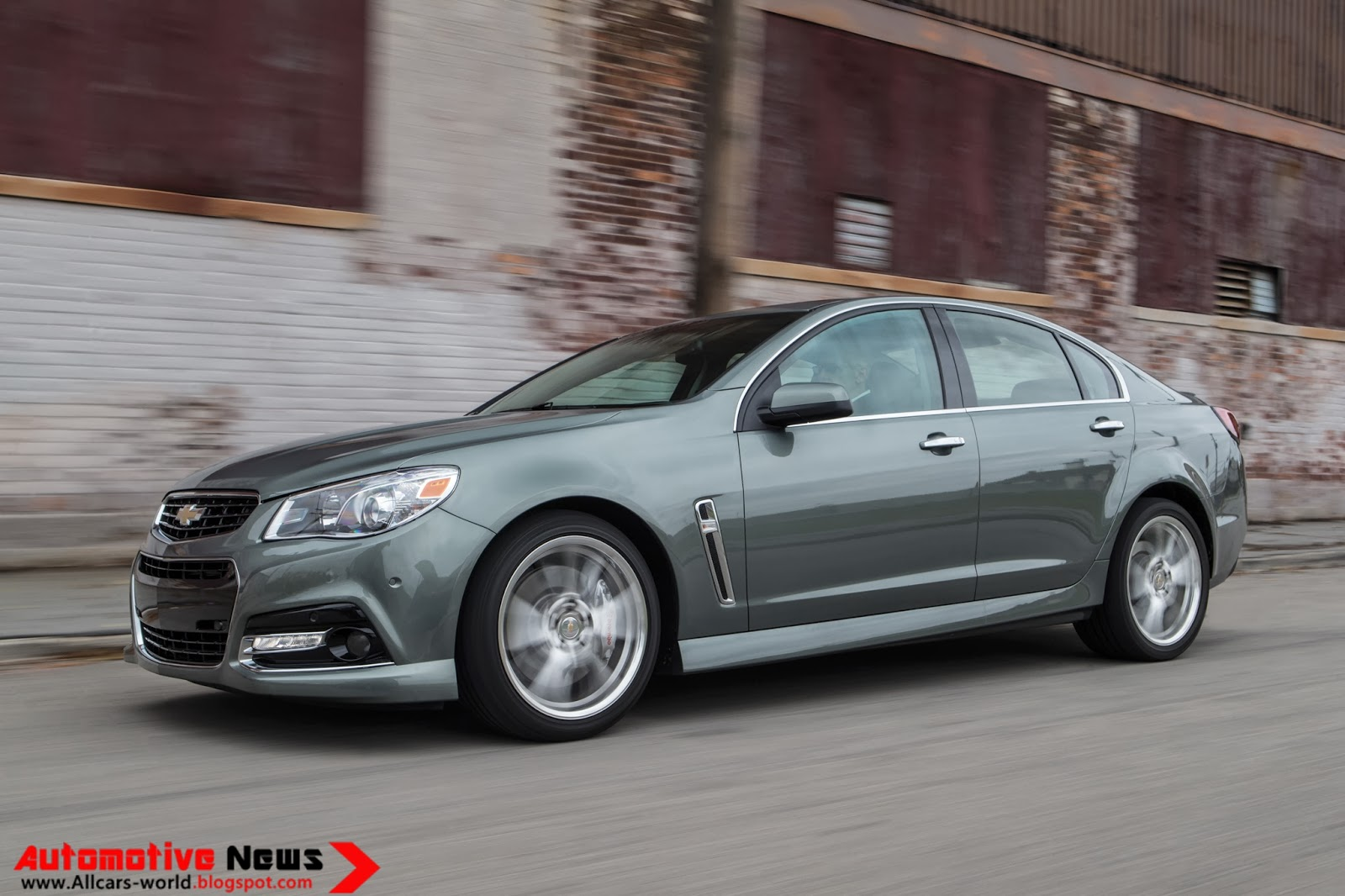 Totd Is The 2014 Chevrolet Ss A Modern Impala Ss Autos Post