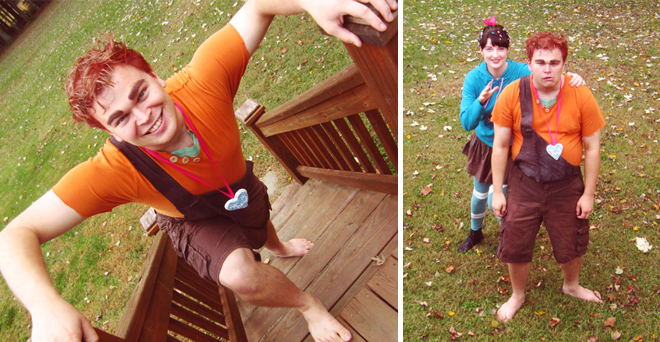 Homemade Halloween costumes - Wreck-It Ralph
