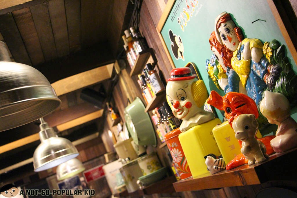 Some freaky yet interesting decors inside the Bubba Gump Restaurant