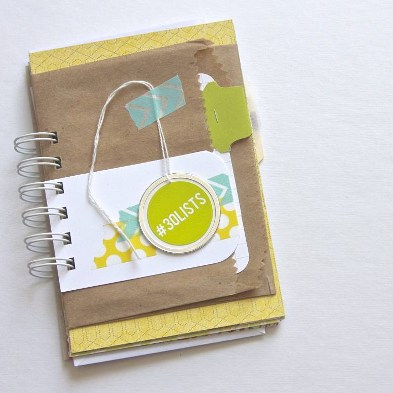 30 Days of Lists Journal | iloveitall.etsy.com