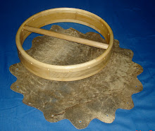Modelo 1 pele com pegador de madeira