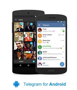 Download Telegram 3.1.3 Andorid, IPhone/IPad, dan Windows Phone