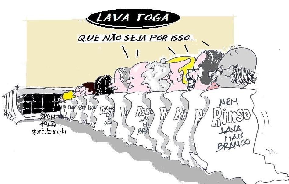 """Se a CPI da Lava Toga for instalada, o STF manda trancá-la"", diz Gilmar"