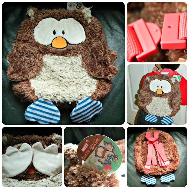 Owl Backpack from NICI Forest Friends