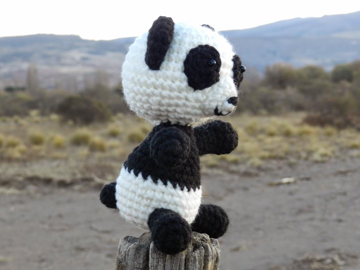 Amigurumi Oveja : daxa rabalea: Oso Panda amigurumi