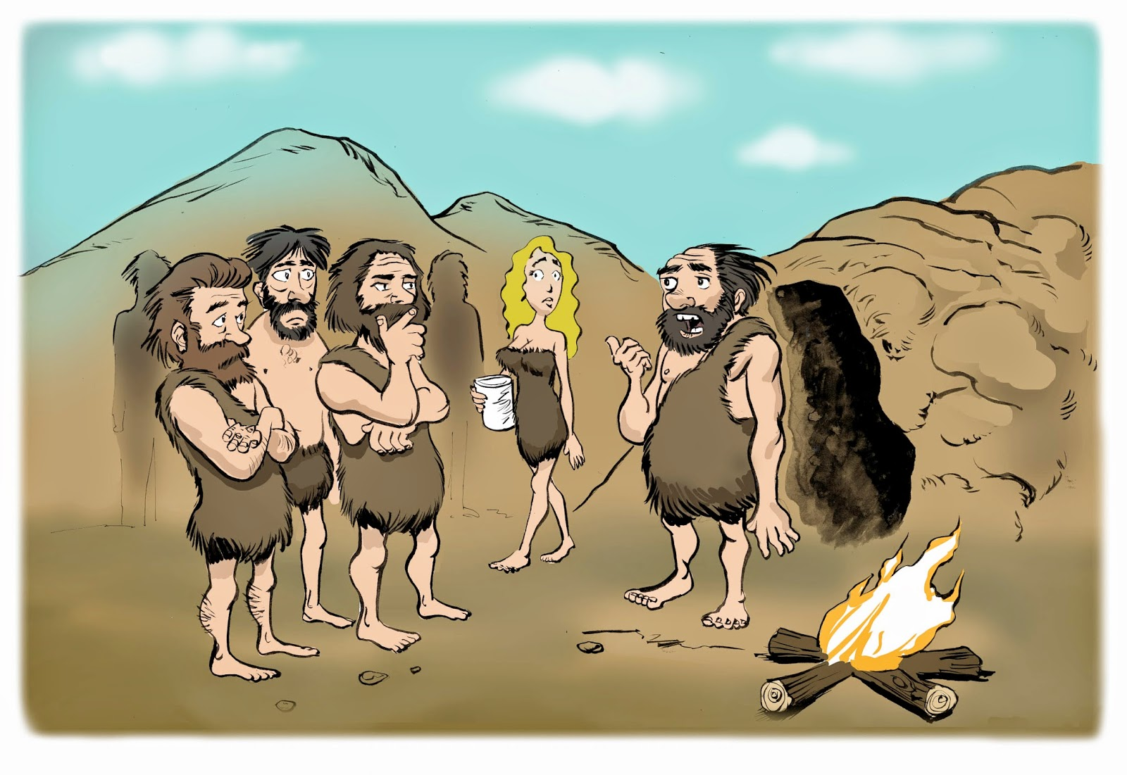 Virtual office services in pre-historic times