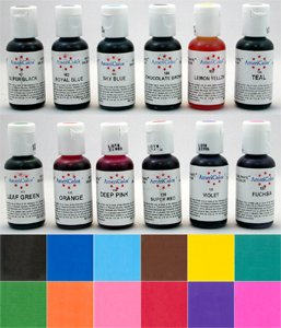 colorant en gel americolor - Colorant Alimentaire Liquide