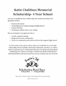 Four Year Scholarship Application