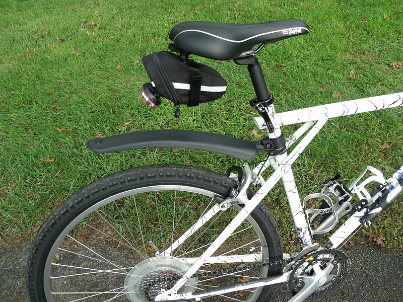 Hugh`s bicycle blog: GT Avalanche gets the full Zefal treatment
