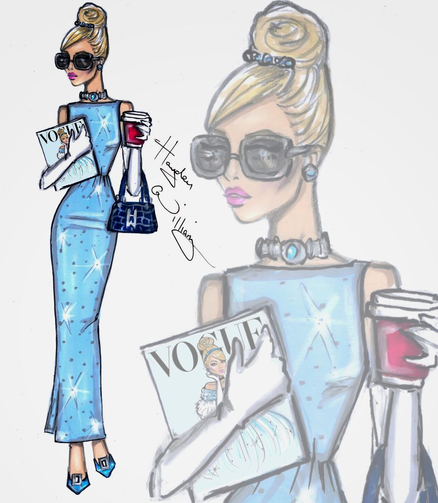 Hayden Williams Fashion Illustrations Disney Diva