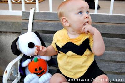 disfraz casero de Charlie Brown