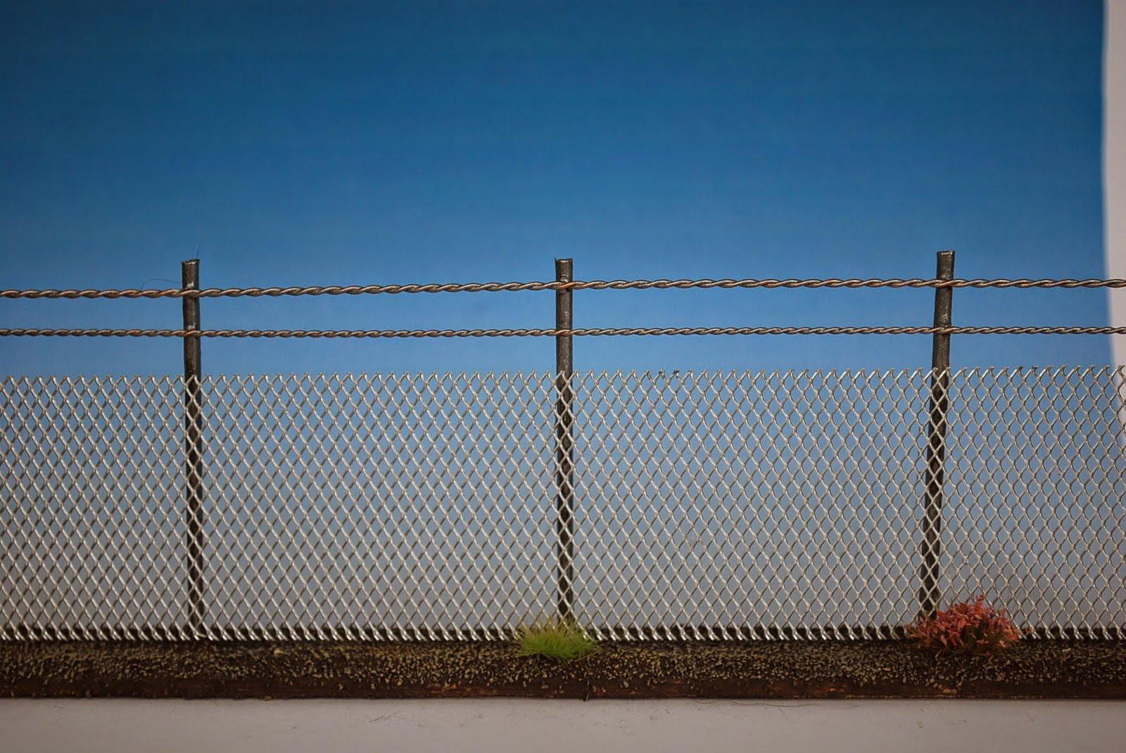 Tabletop Heroes & Villains: Terrain Tutorial: Security Fences